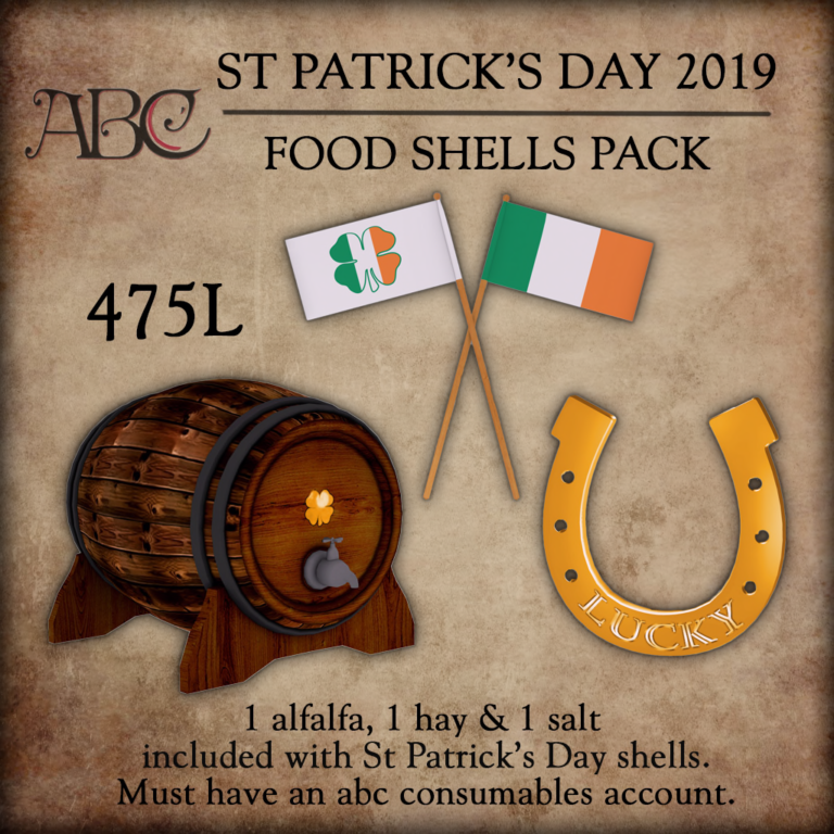 St Patricks Day Food Shells